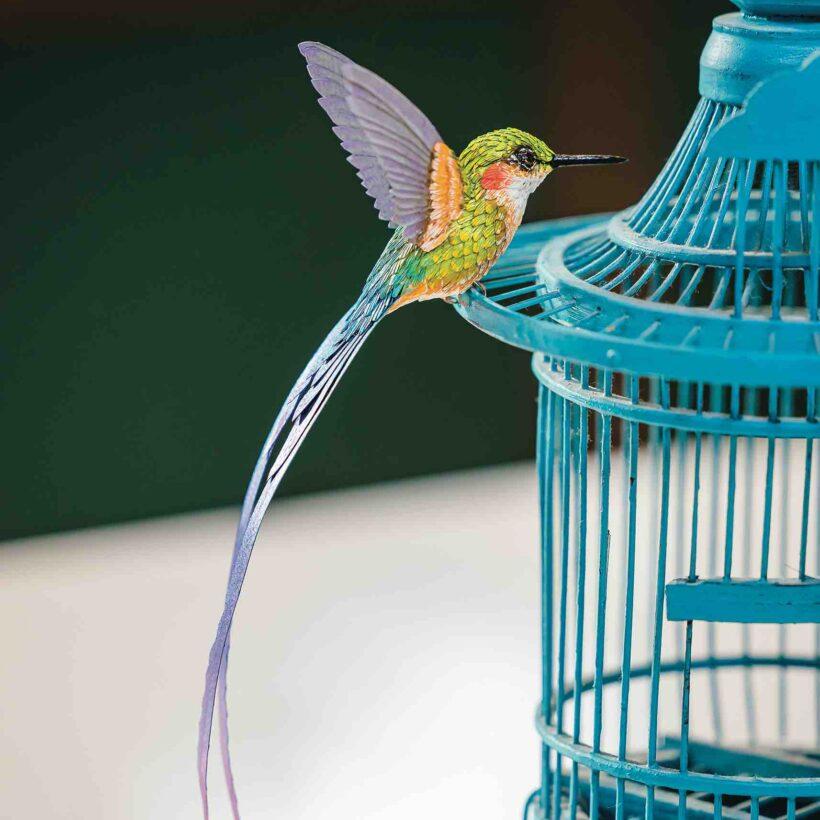 Paper Hummingbird Kit