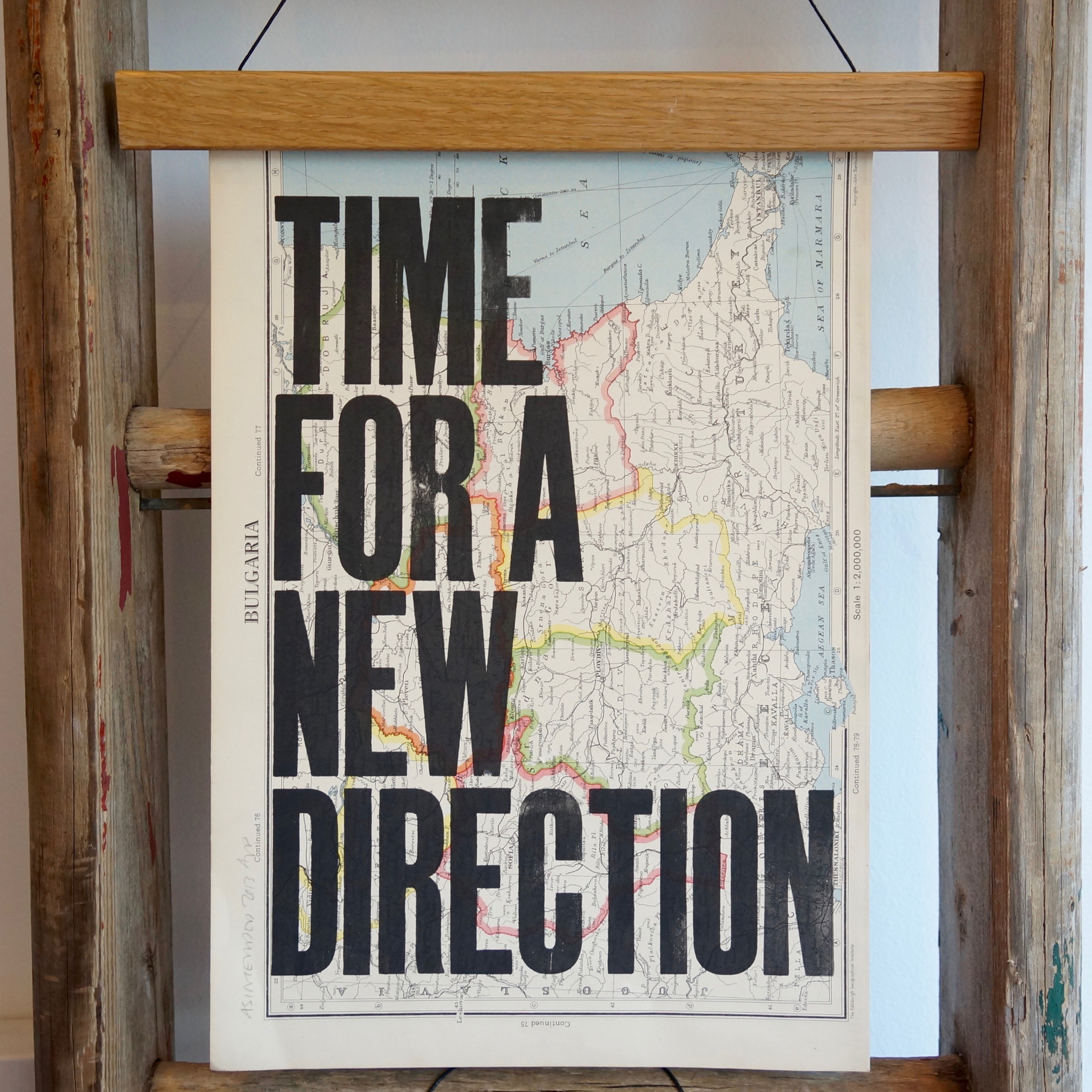time for a new direction print