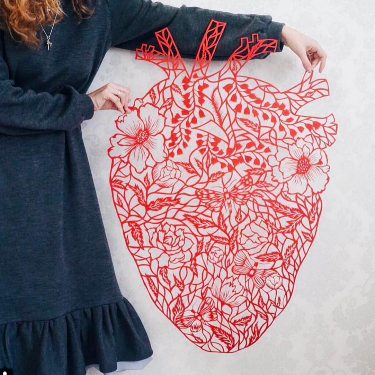 Best Self Eugenia Zoloto Paper Heart