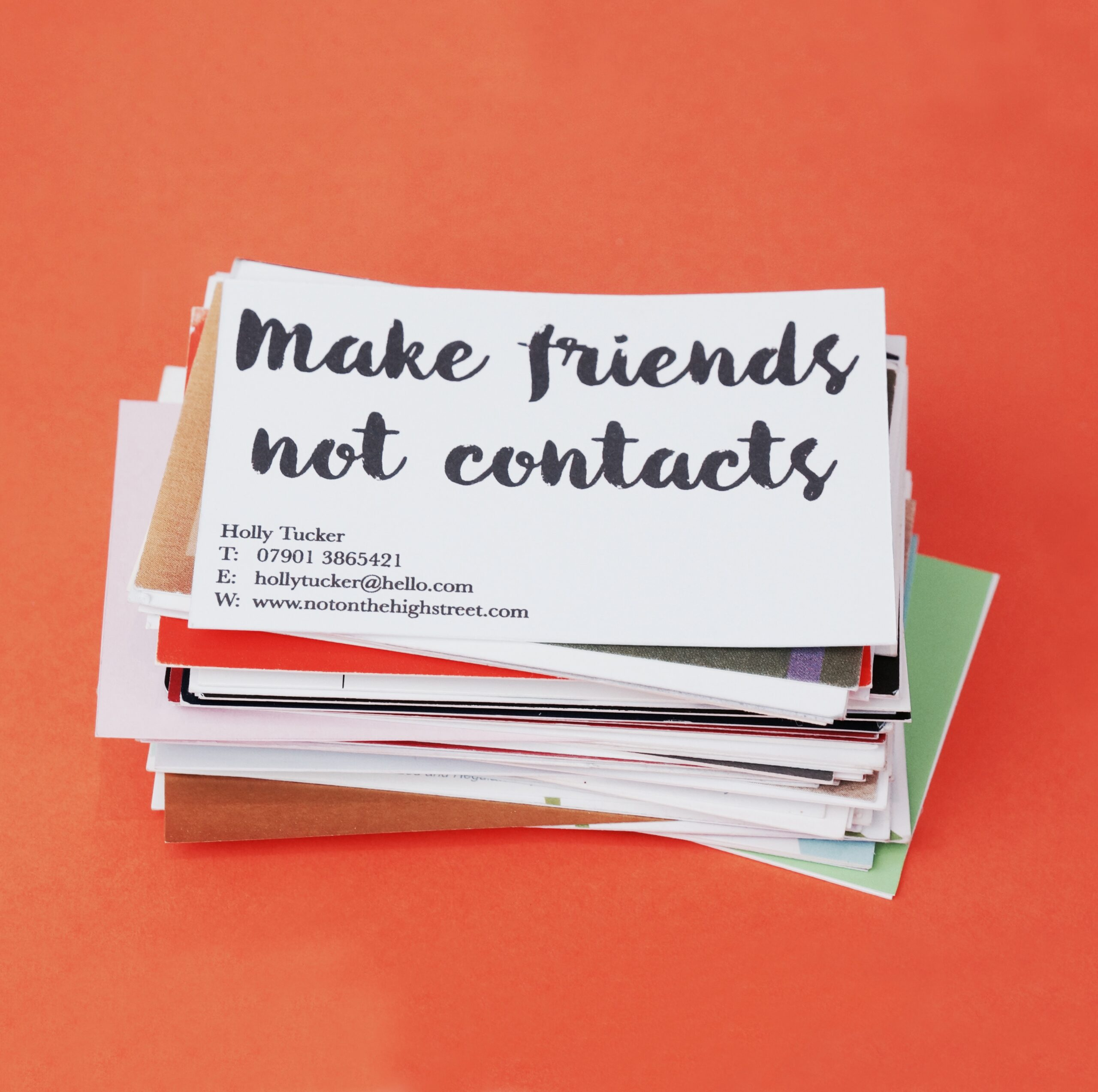 friends not contacts