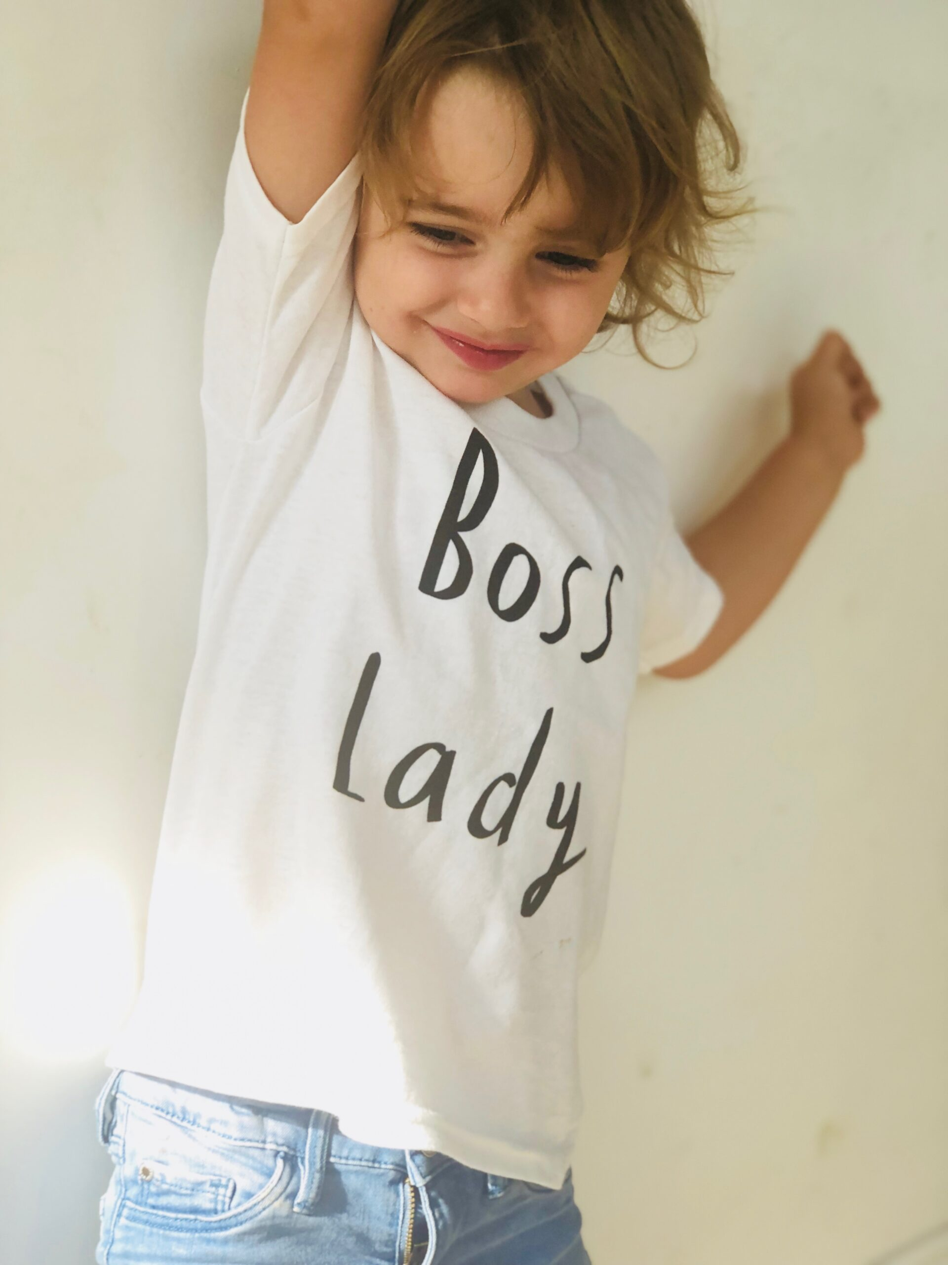 Mini Boss Lady Kids T-shirt