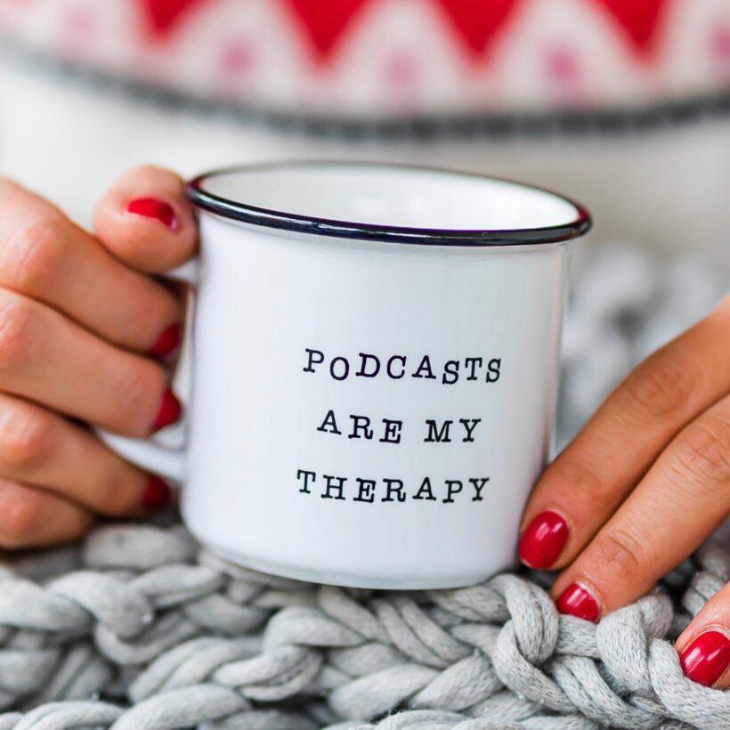 Podcast Therapy Mug