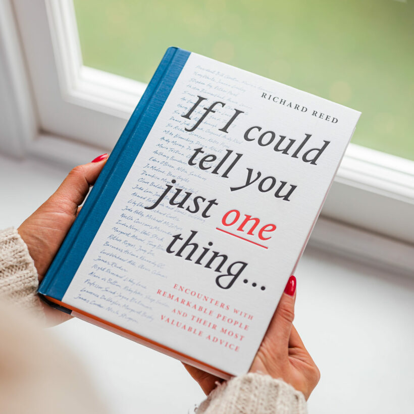 If I could tell you just one thing
