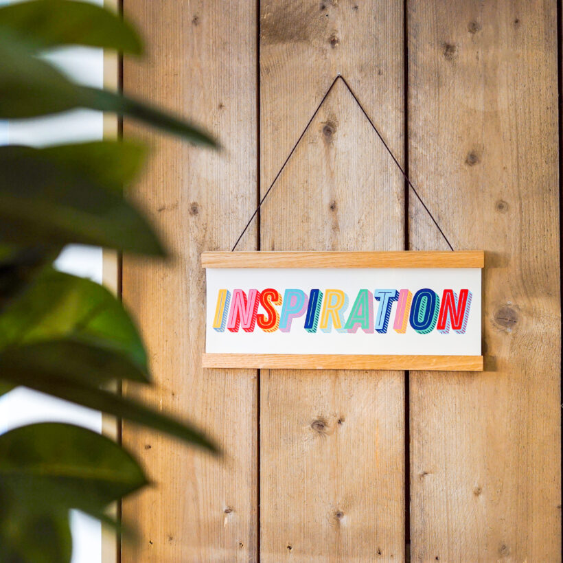 Inspiration Print by Modo Creative & Holly & Co