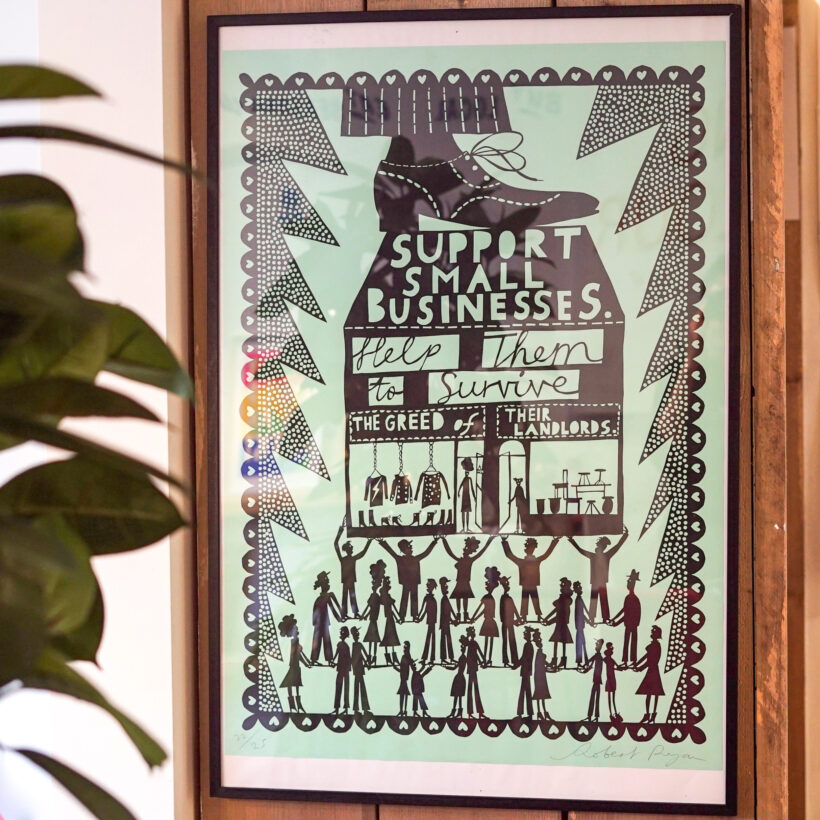 Rob Ryan Support Small Businesses Print
