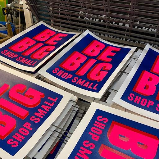 Dave Buonaguidi BE BIG SHOP SMALL Print