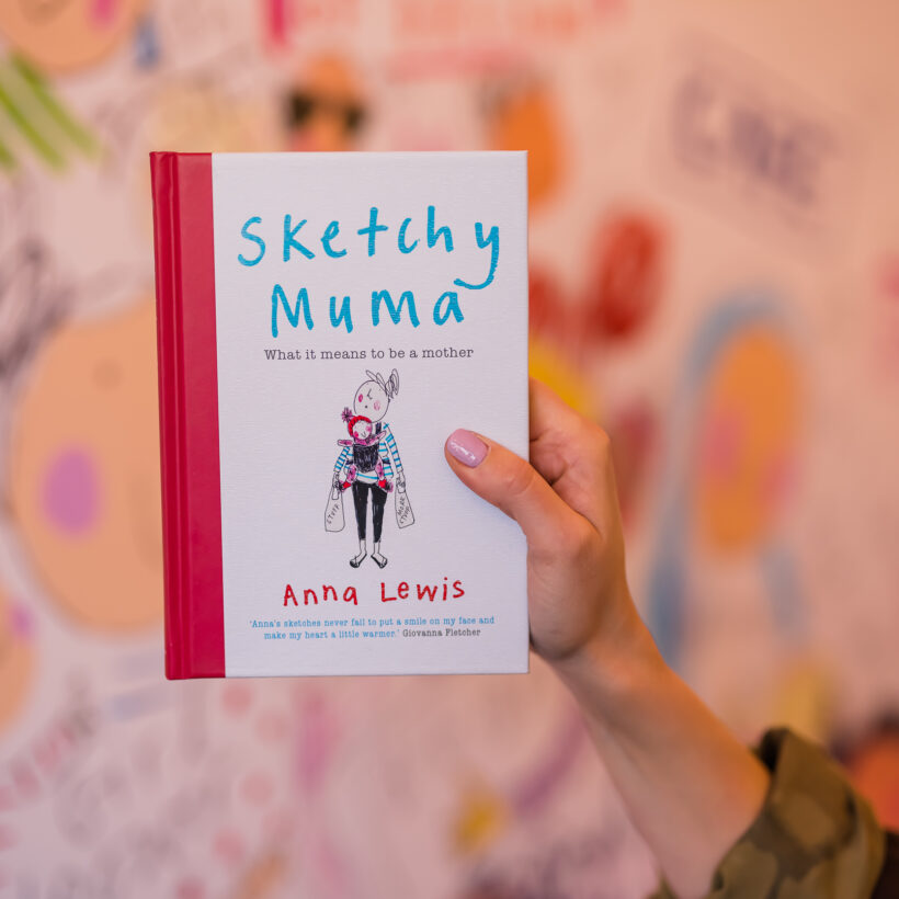 Anna Lewis - Sketchy Muma Book - What It Means To Be A Mother - 1D6A2663