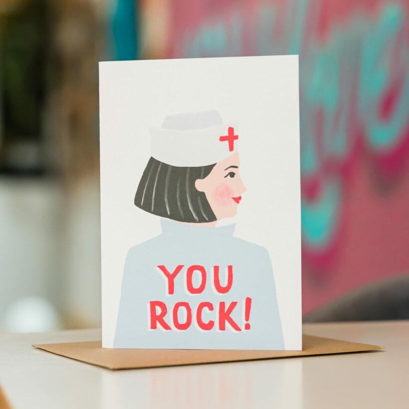 You Rock - NHS Nurse / Jade Fisher Card
