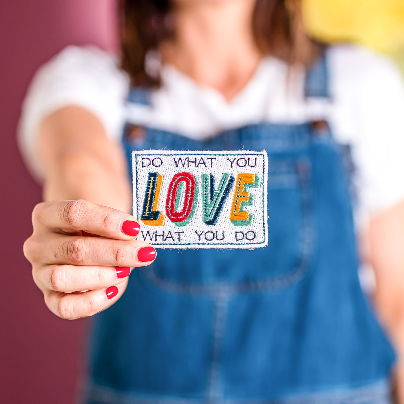 Do What You Love patch