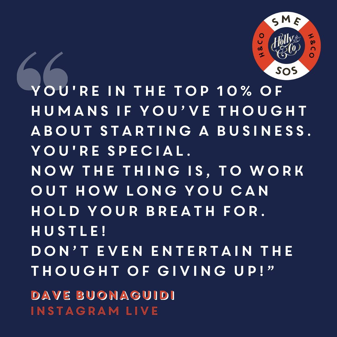If you start a small business, you're in the top 10% of humans!