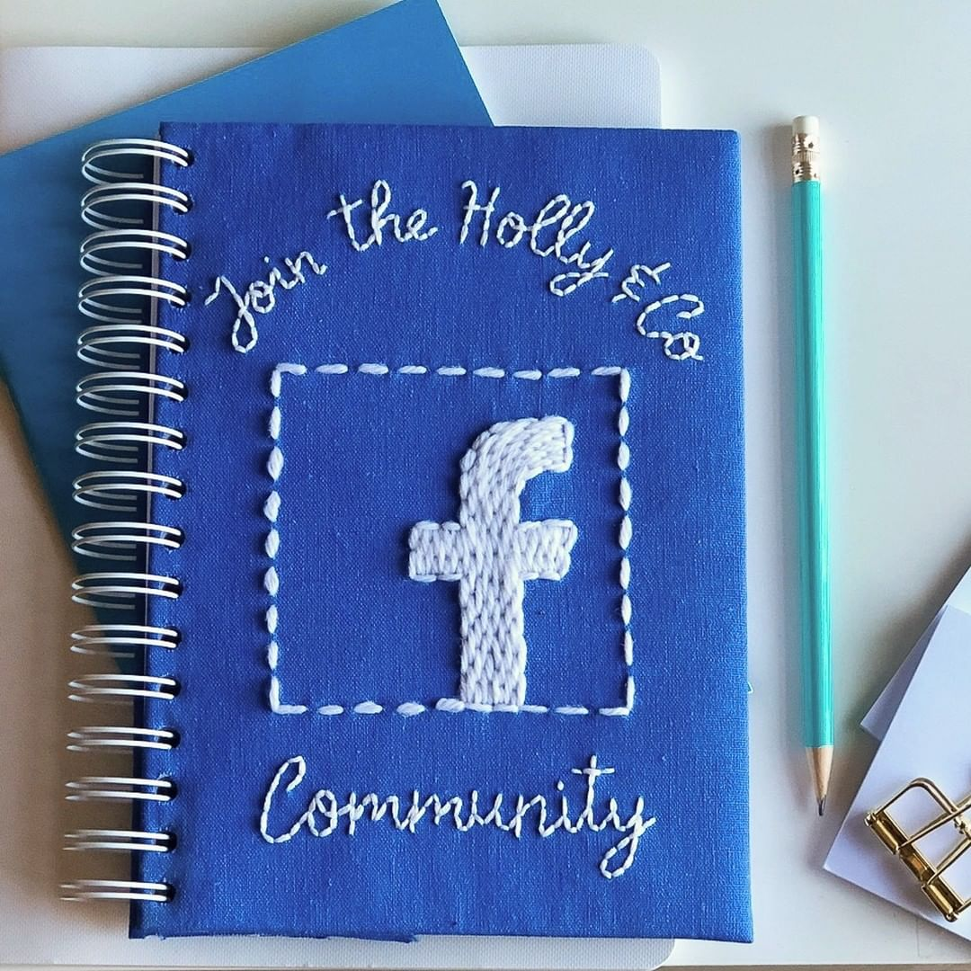 The Holly & Co‑mmunity Facebook group is here!