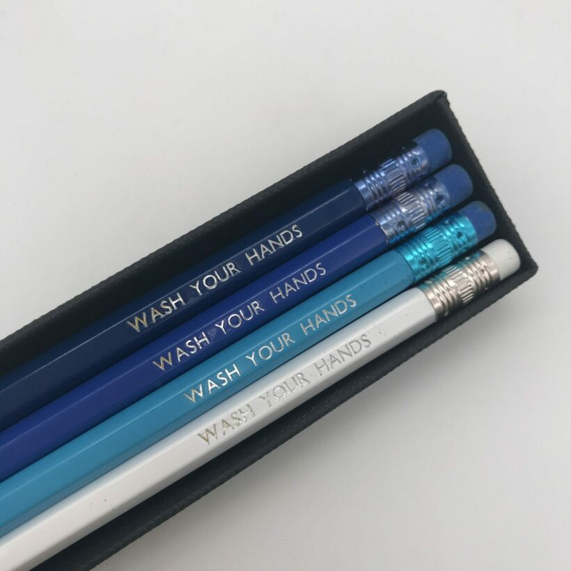 Wash Your Hands - Pencil Set by Pencil me In