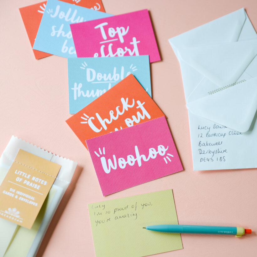 Little Notes of Praise - Notecard Set by Bread & Jam