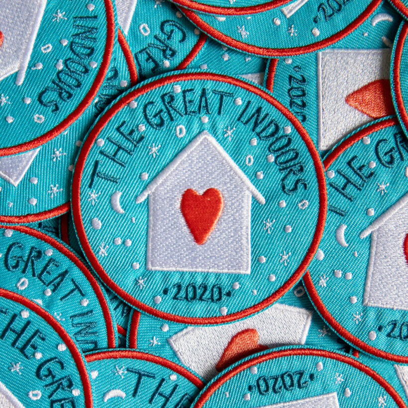 The Great Indoors, Iron on Patch
