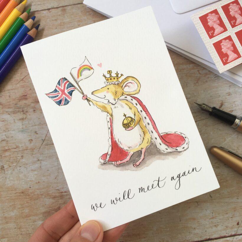 We Will Meet Again - Queens Speech Card