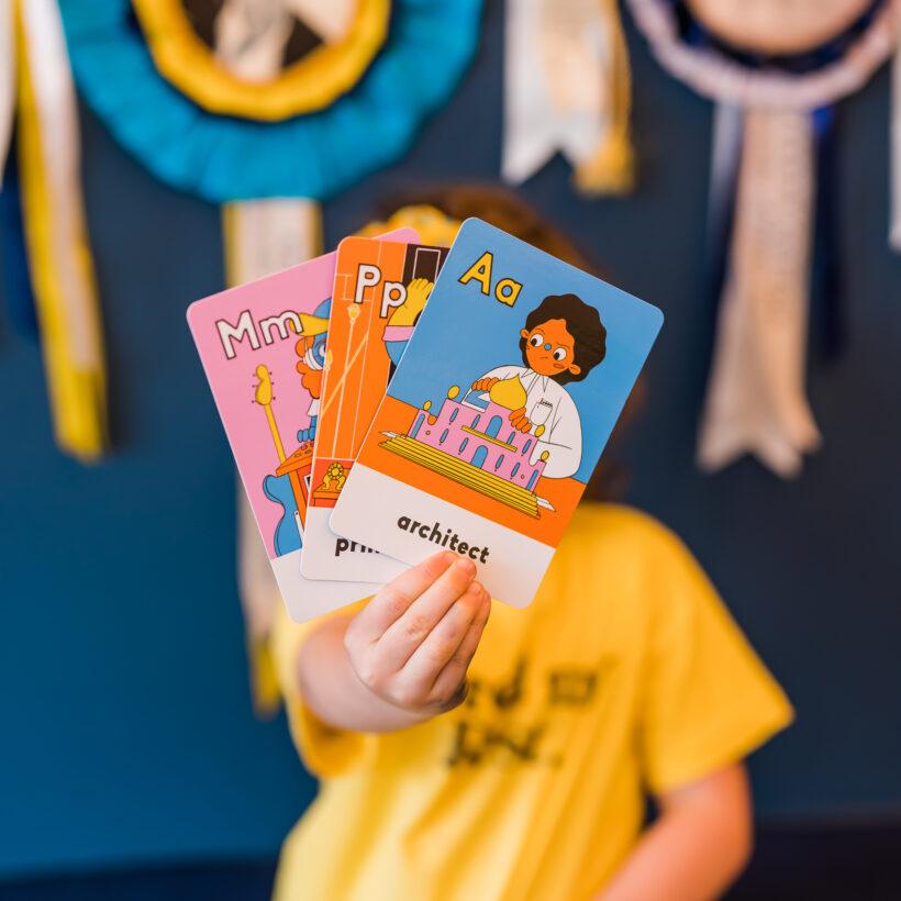 Alphabet Flash Cards Boss babs
