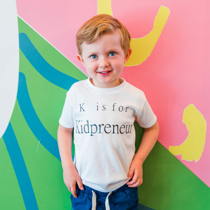 K is for Kidpreneur T-Shirt