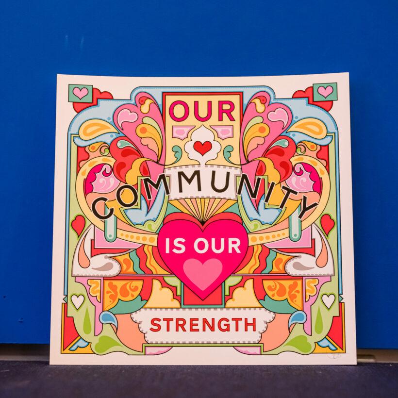 Community Print Rebecca Strickson