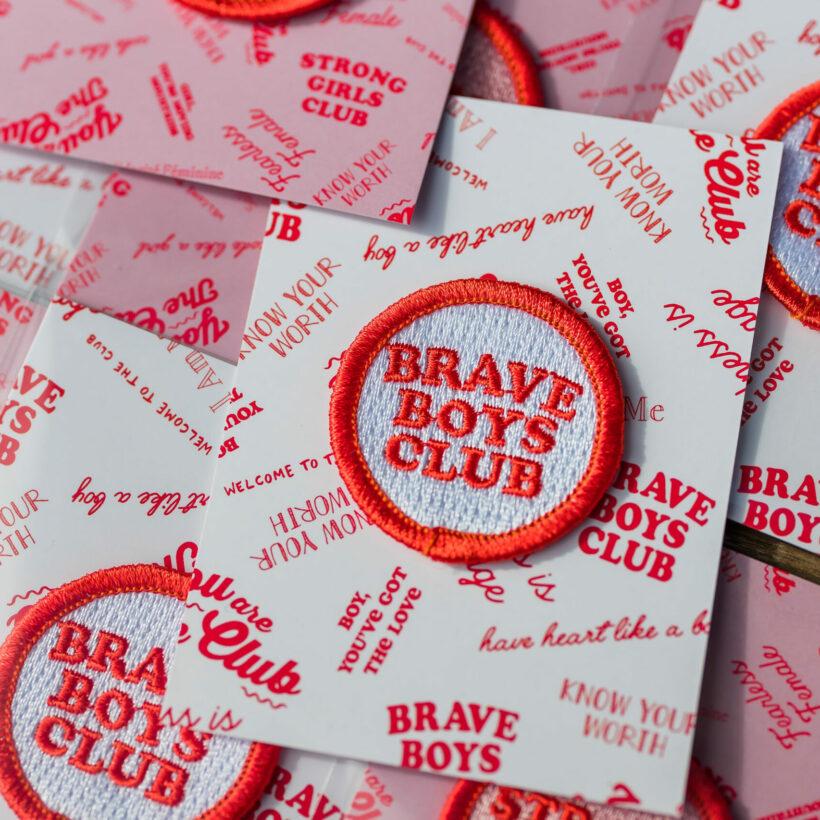 Brave Boys Club Patch
