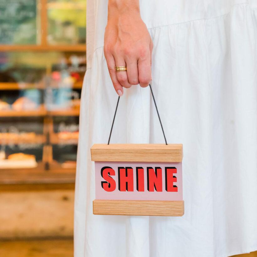 Shine Mini Poster