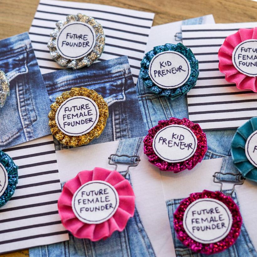 Kidpreneur Rosette Badges