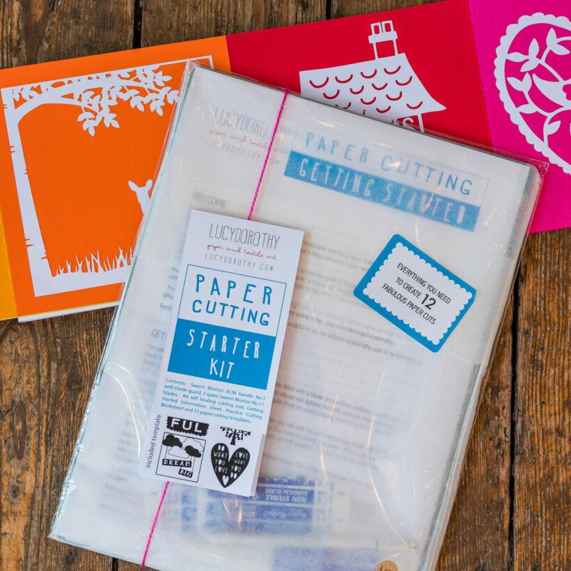 Paper Cutting Starter Kit