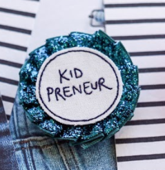 Kidpreneur Rosette Badge