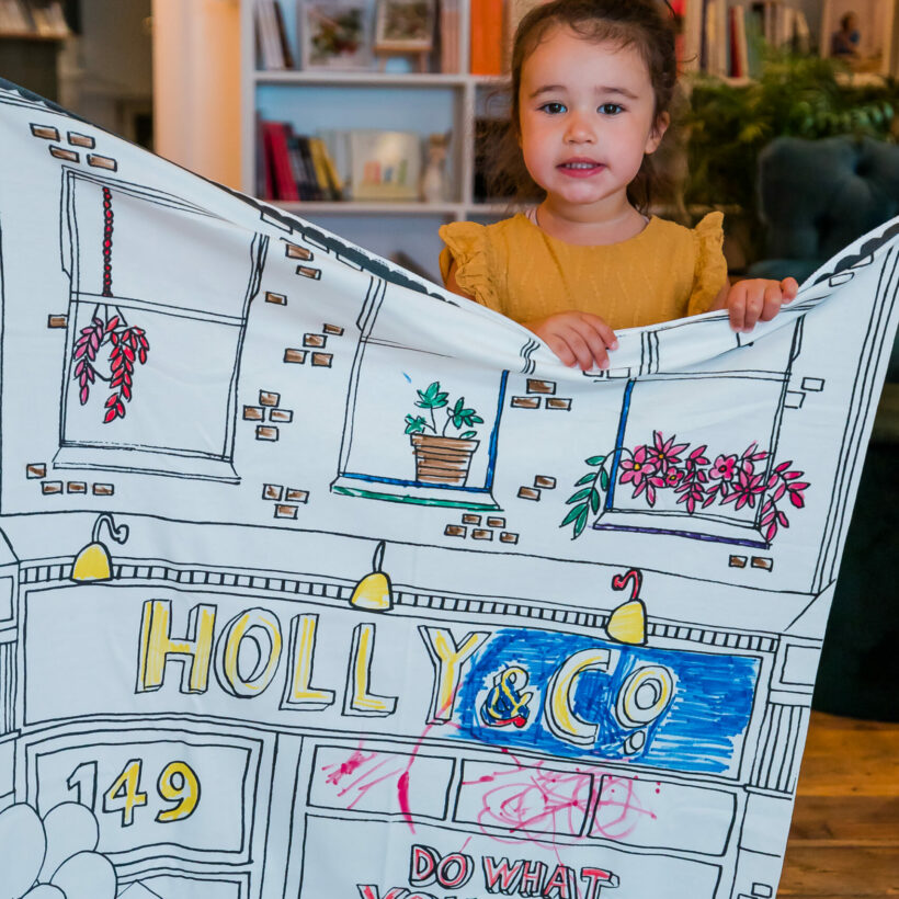 Holly & Co Work/Shop Banner