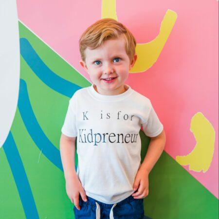 k is for kidpreneur t shirt