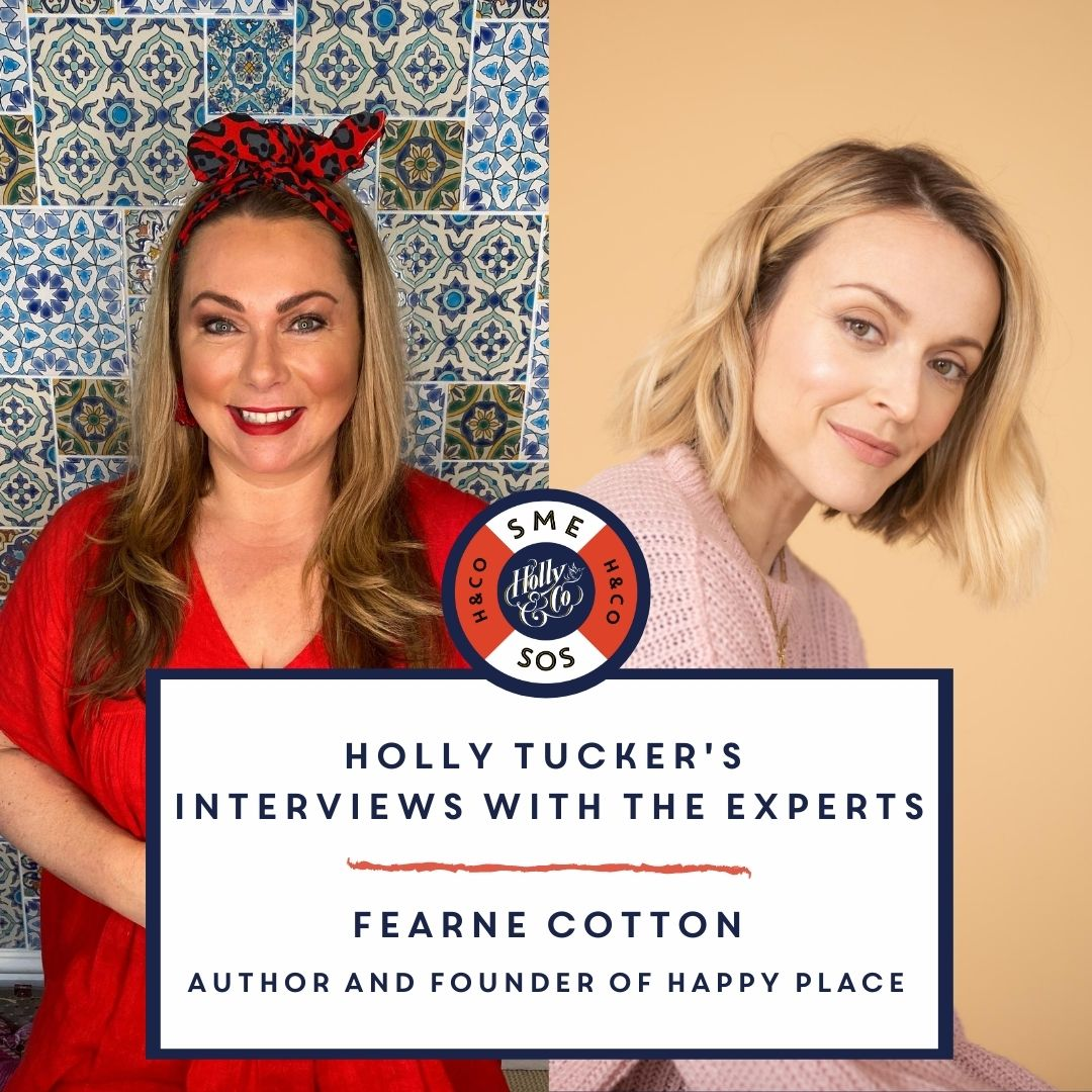 Holly Tucker SME SOS interview with Fearne Cotton