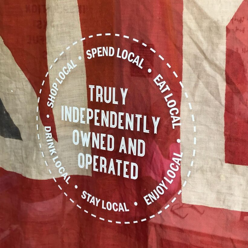 Truly Independently Owned & Operated Window Sticker