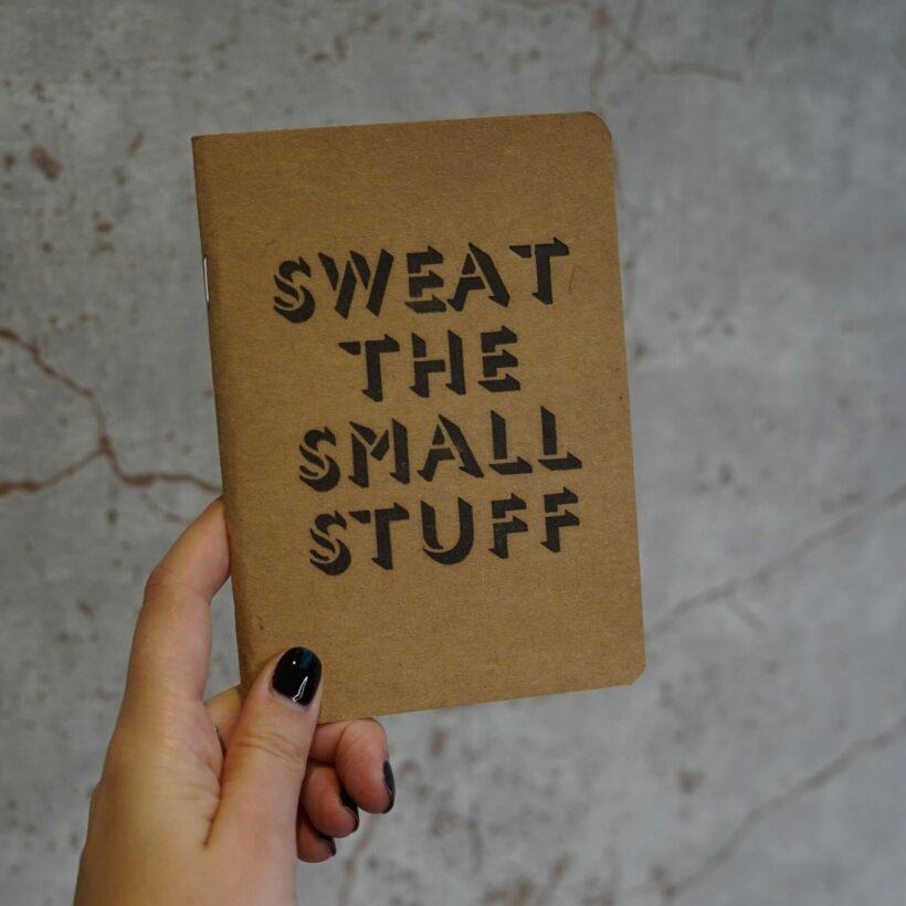 Letter Pressed Notebook
