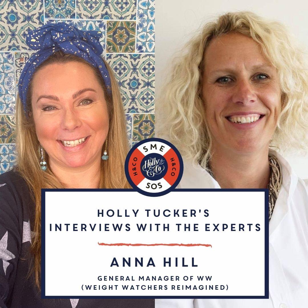 Holly Tucker and Anna Hill