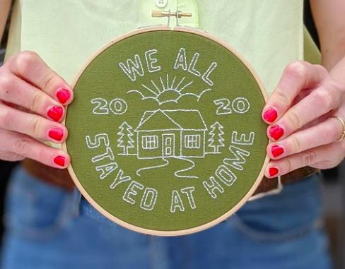 Embroidery Hoop Kit
