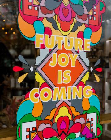 Future joy is coming