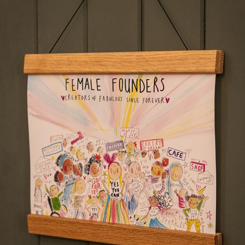 Female Founders Print