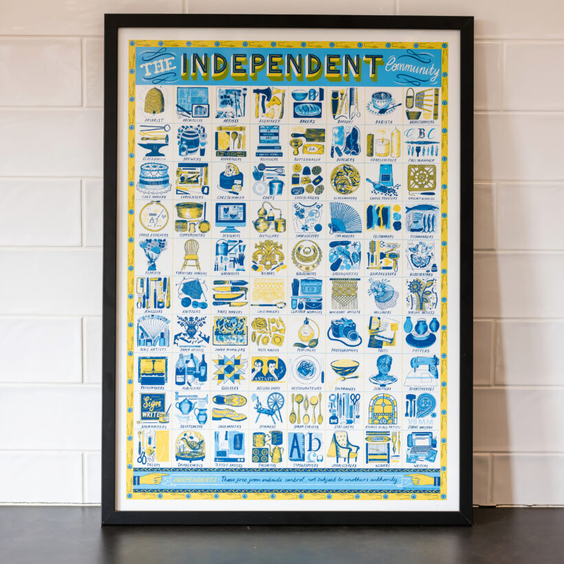 The Independent Community print