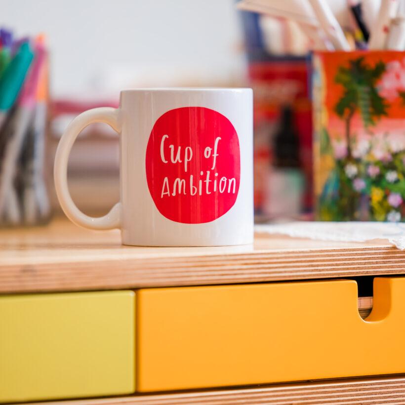 Cup of Ambition - Nicola Rowlands