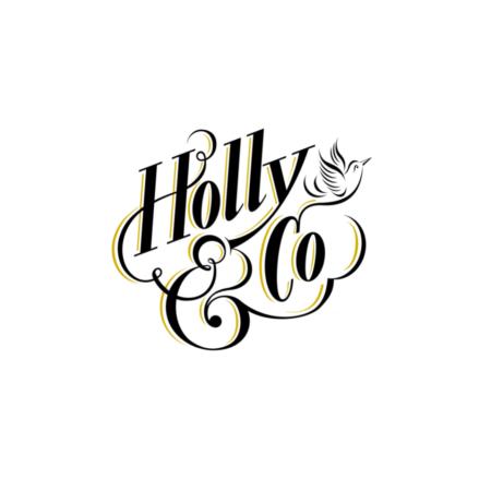 Holly & Co logo for book shop (1)