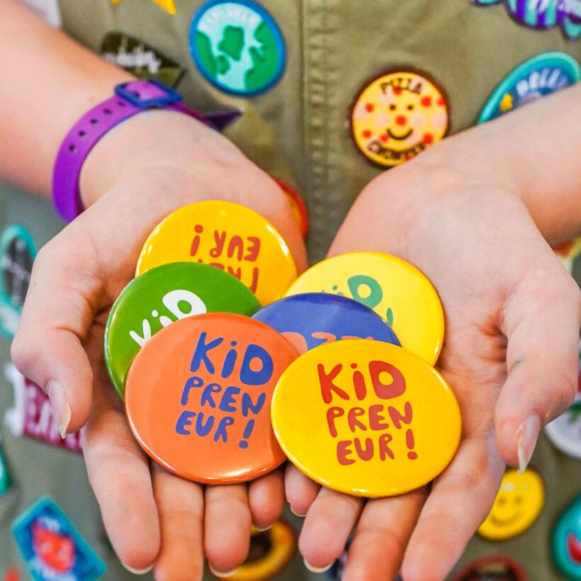 Kidpreneur badges
